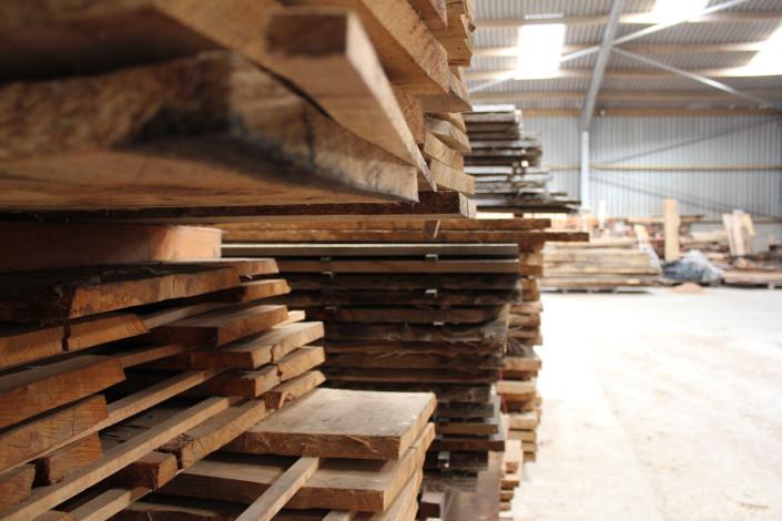 Cornish Hardwood Planks