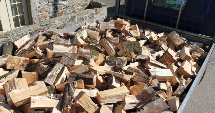 Hardwood Logs Delivered Cornwall
